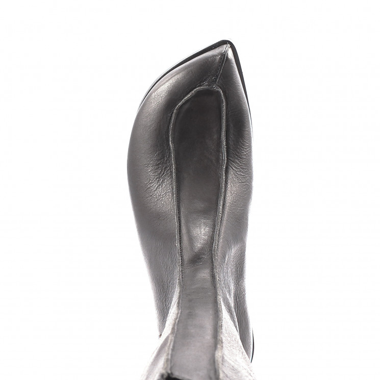 CYDWOQ Sphinx Stiefel Damen schwarz