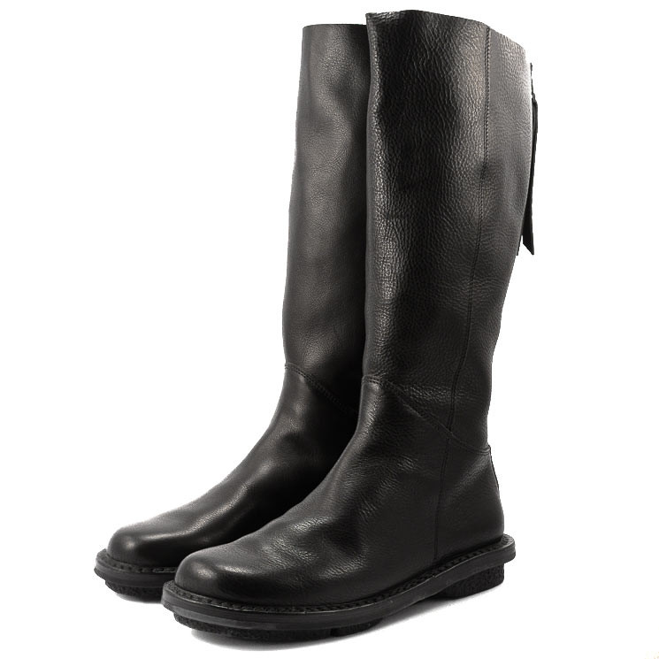 Trippen Wall Closed Damen-Stiefel schwarz