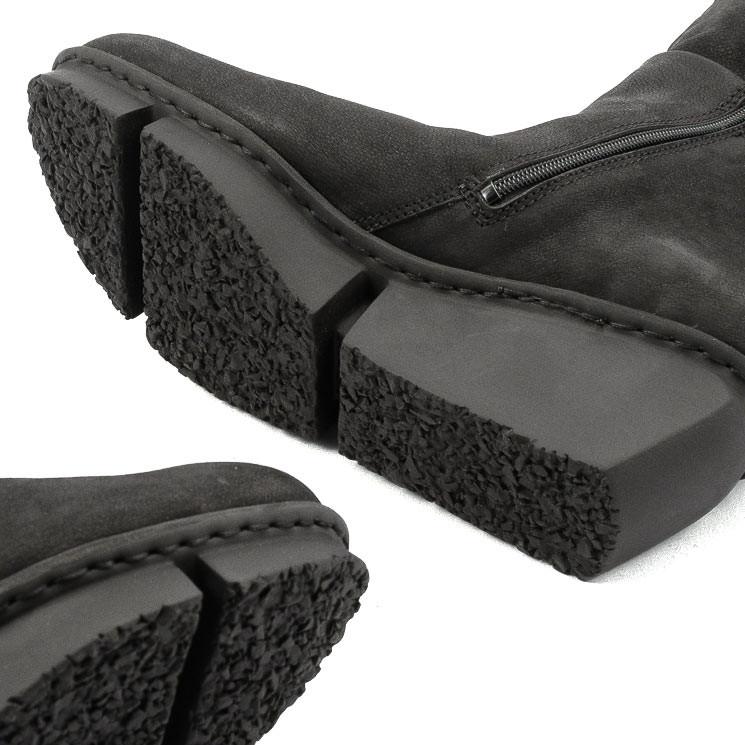 Trippen Dart Splitt Damen-Stiefel schwarz