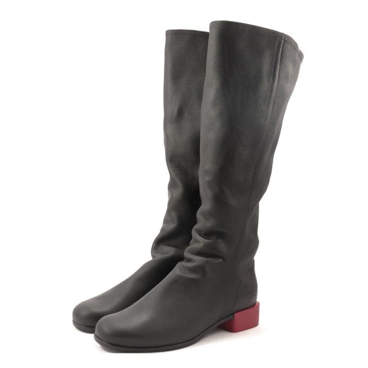 Arche Twigbo Damen Stiefel schwarz-rot