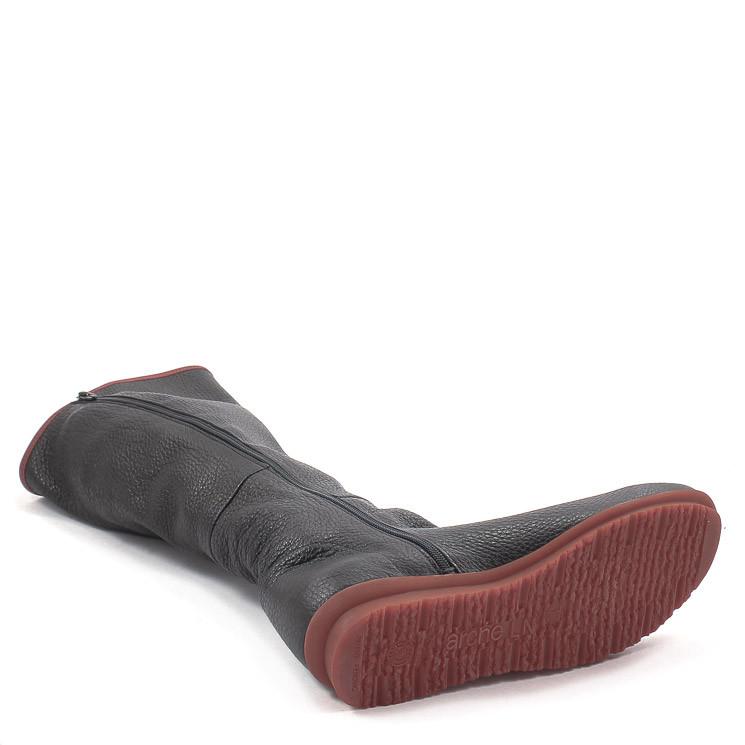 Arche Barkya Damen Stiefel schwarz-rot