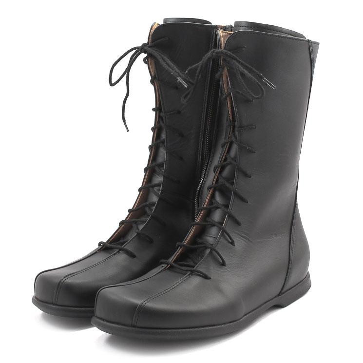 Waldviertler Werkstätten Mula Rusch F Damen Stiefel schwarz
