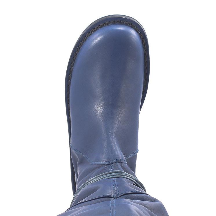 Trippen SantaFe Closed Damen Stiefel blau