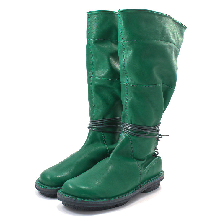 Trippen SantaFe Closed Damen Stiefel grün