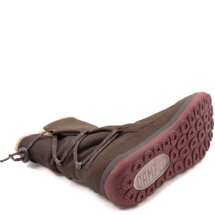 Camper K400298 Peu Pista Damen Stiefel dunkelbraun
