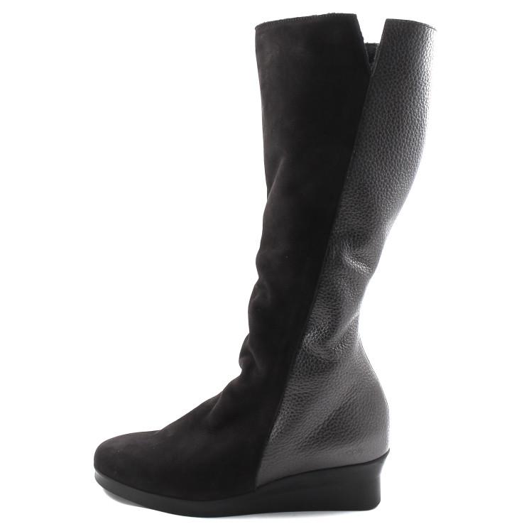 Arche Abeska Damen Stiefel schwarz