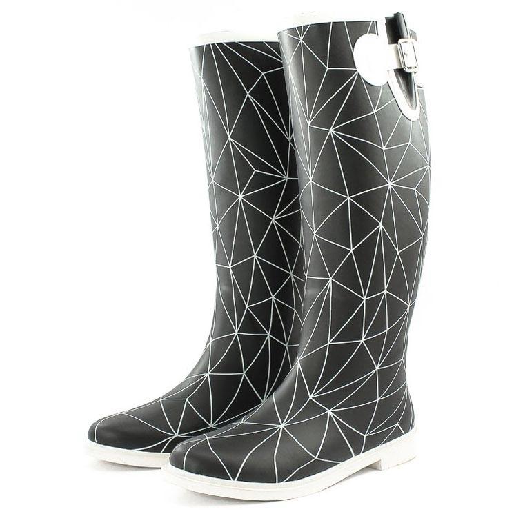 United Nude Rain Boot schwarz-weiß