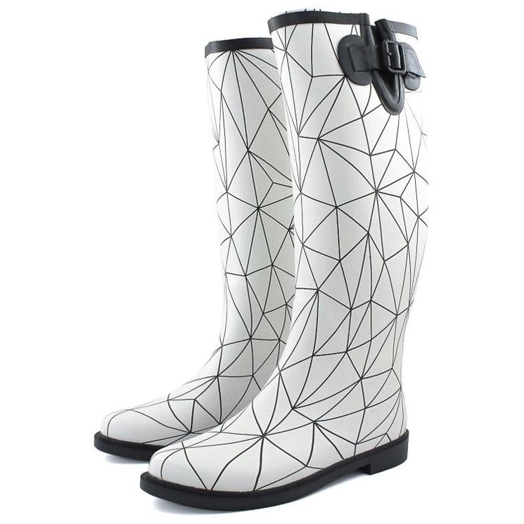 United Nude Rain Boot weiß-schwarz