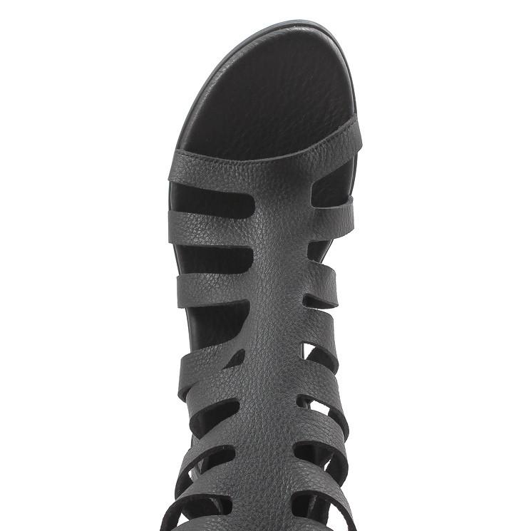 Arche Vayati Damen Sommer-Stiefel schwarz
