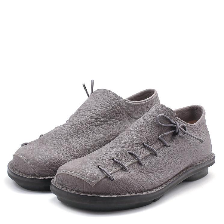Trippen Sneaker m Closed Herren Slipper grau