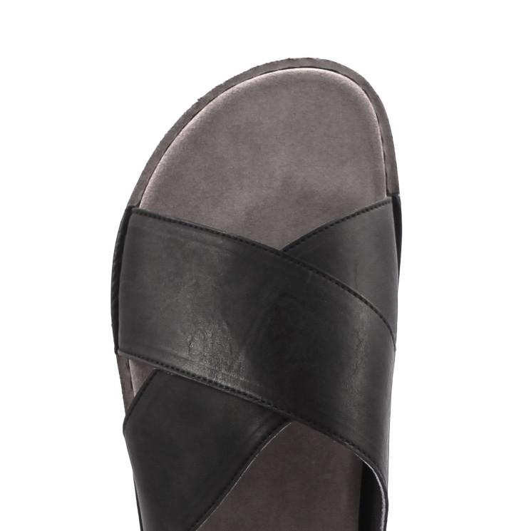 UiTormeda 1372-U Herren Pantolette schwarz