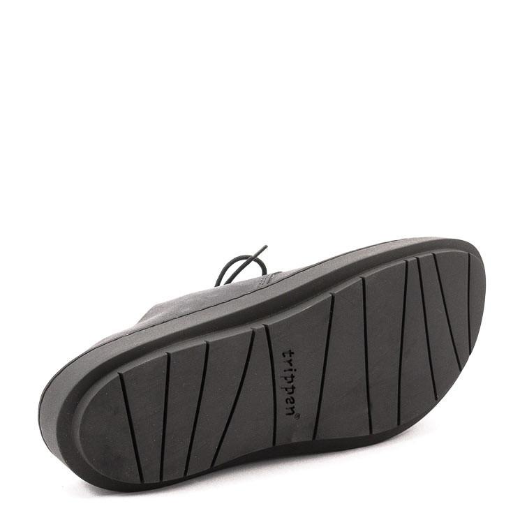 Trippen Nami Swan Herren Pantolette schwarz