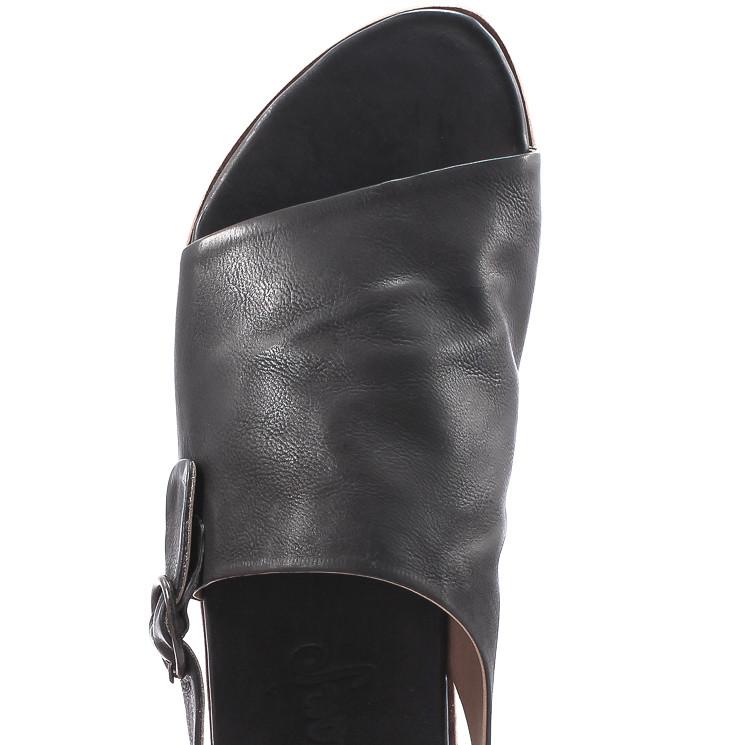 P. Monjo P231 Herren Sandale schwarz