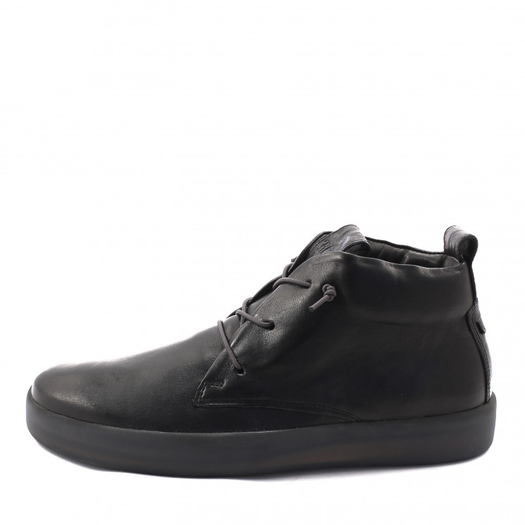 Think 85646 Joeking Herren Hightop-Sneaker schwarz