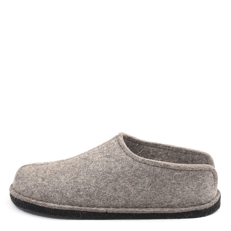 Haflinger Flair Smily Unisex Hausschuh taupe