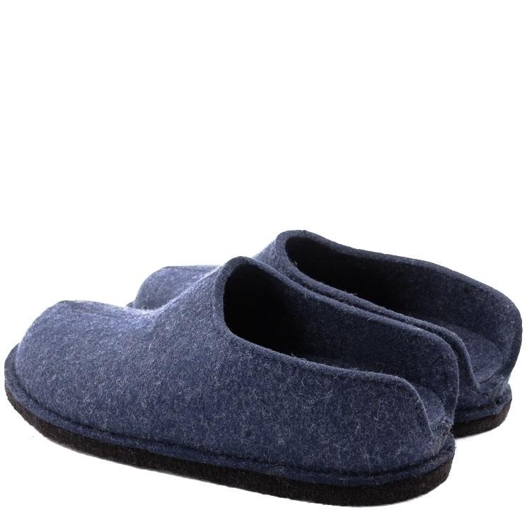 Haflinger Flair Smily Hausschuh blau
