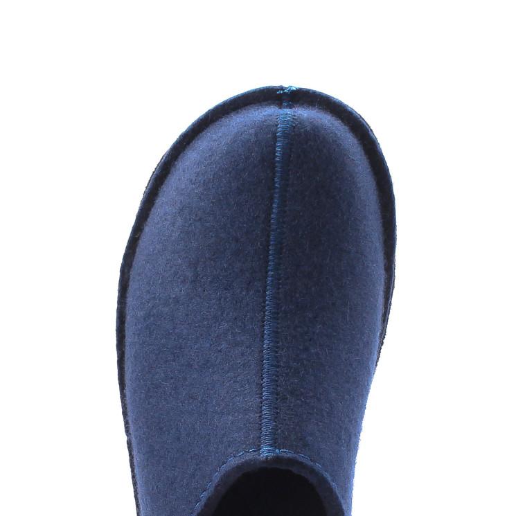 Haflinger Flair Smily Unisex Hausschuh dunkelblau