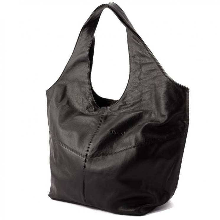 Think 000126 Damen Shopper schwarz