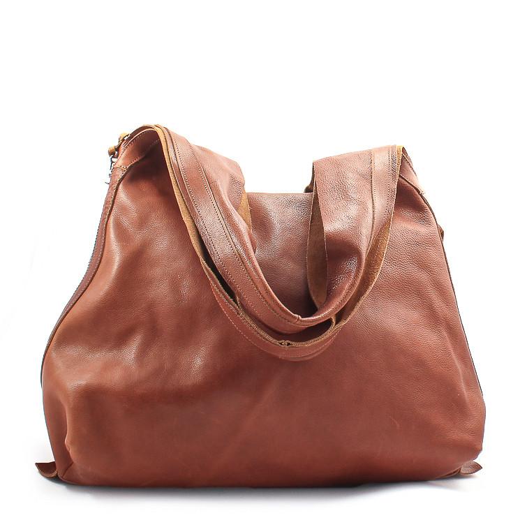 Trippen Shopper S Damen Tasche mittelbraun