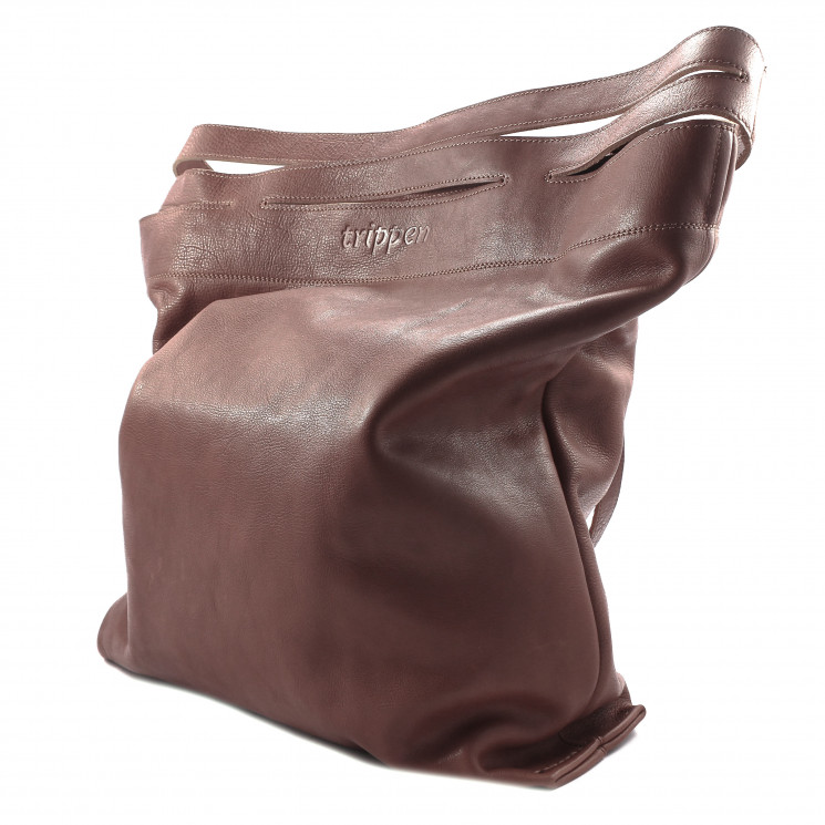 Trippen X-Bag Damen Umhängetasche mittelbraun