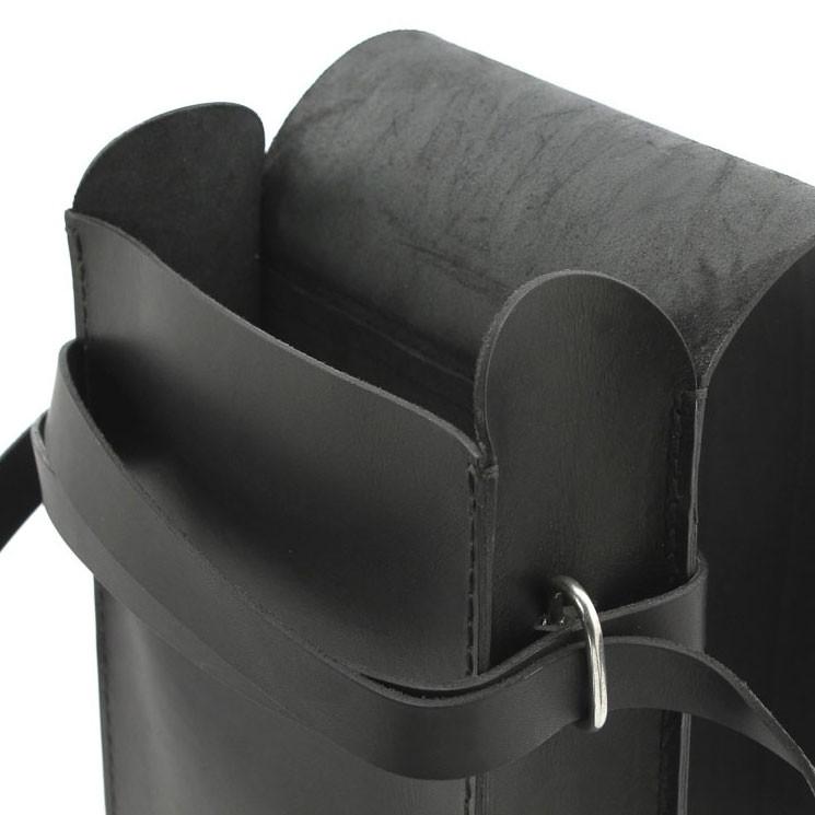 Trippen Bag S A5 Unisex Umhängetasche schwarz