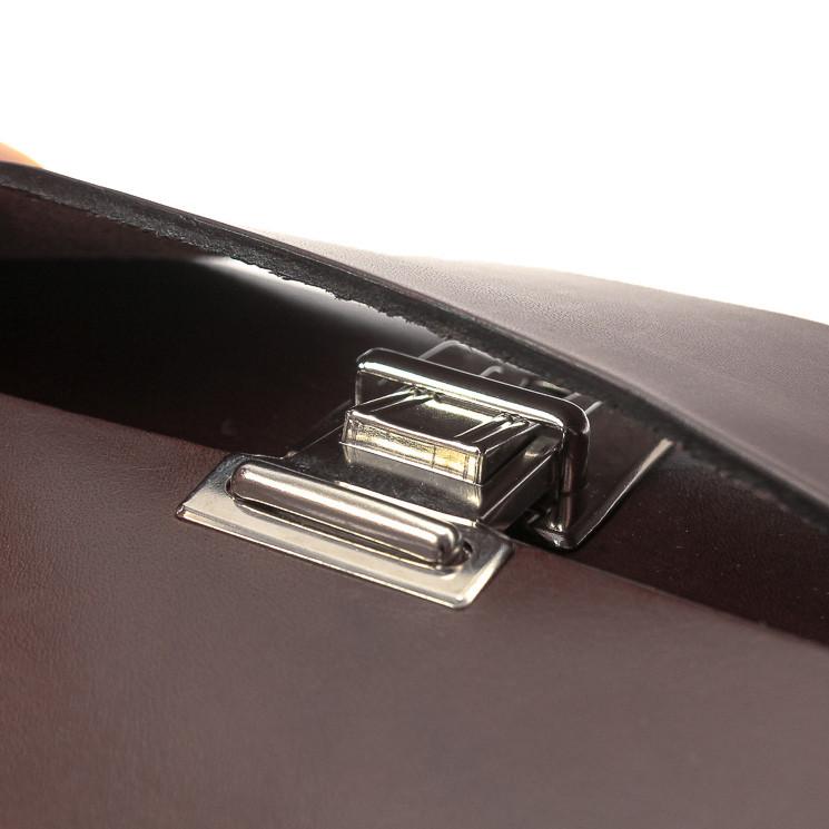 BAG2ROOTS Tasche Mini Unisex Umhängtasche dunkelbraun