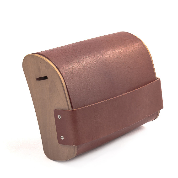 BAG2ROOTS Tasche Medium Unisex Umhängtasche cognac