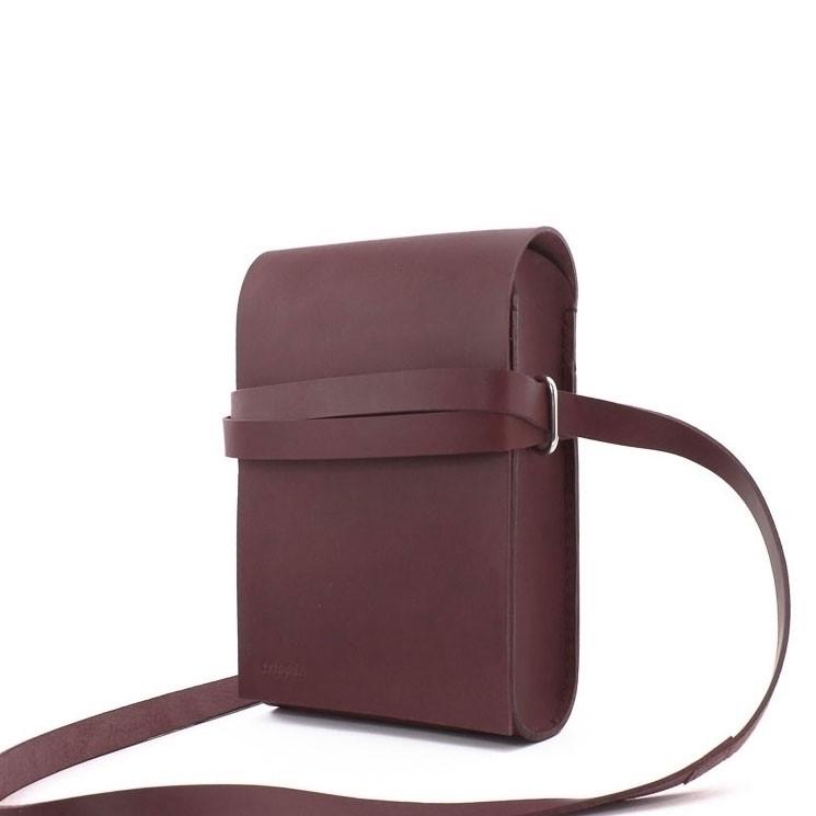 Trippen Bag small A5 bordeaux