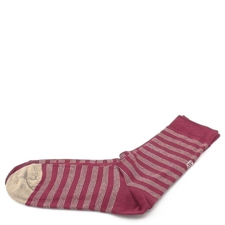 OYBO Kobe Winter Cut Unisex Socken dunkelrot