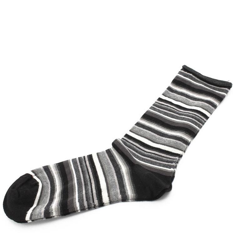 Crönert Longsocks 9 Fb. schwarz-grau