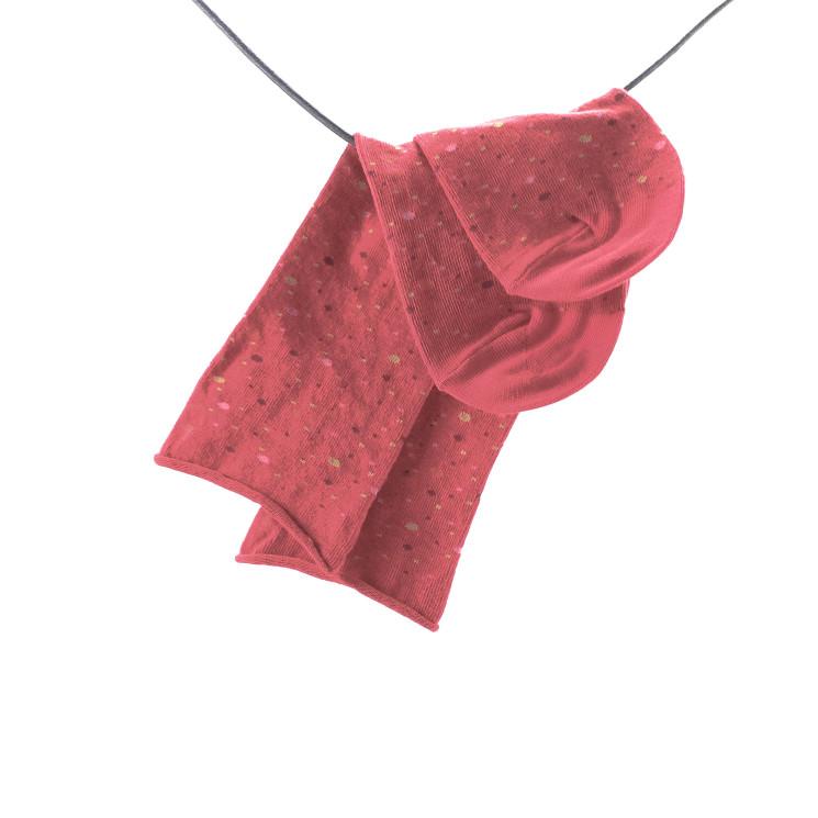 Crönert 18805 Damen Longsocks Sternenhimmel rot