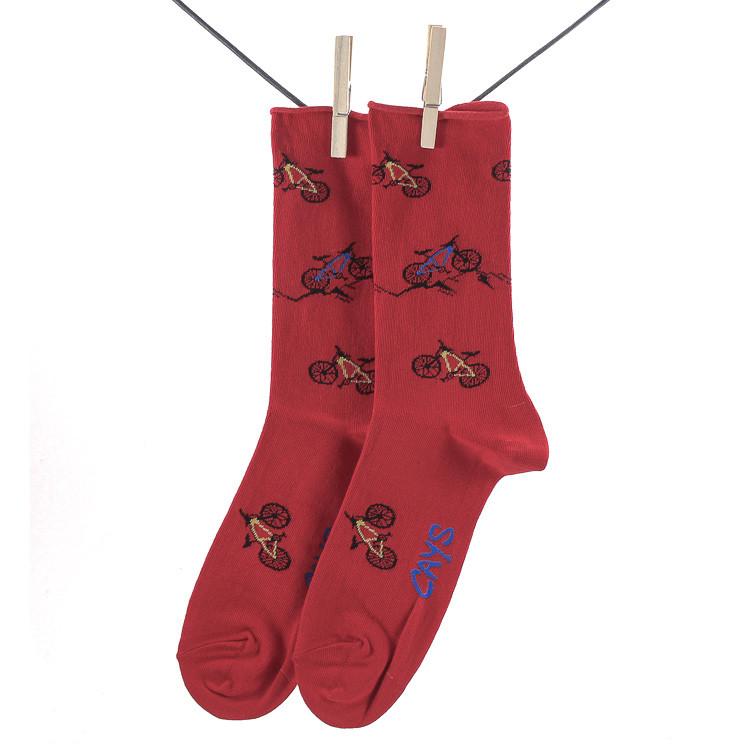 Crönert 27606 Mountainbike Herren Socken rot