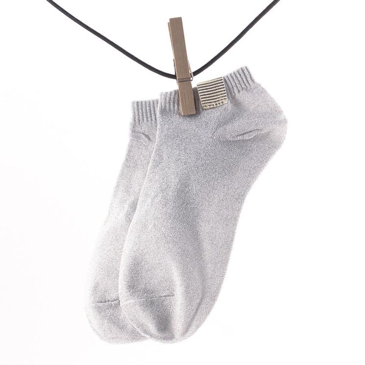 Crönert 16749 Sneaker Socke Damen weiß-grau