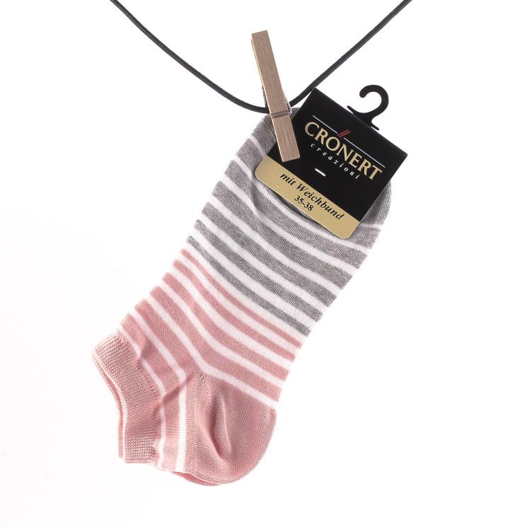 Crönert 15530 Sneaker Socke Damen rosa