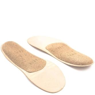 Trippen Fußbett Closed dünn Damen hellbraun