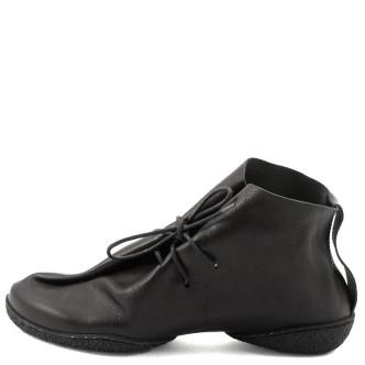 Trippen Rivet Cup Damen-Schnürschuh schwarz