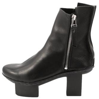 Trippen Line Happy Damen Absatz-Stiefelette schwarz