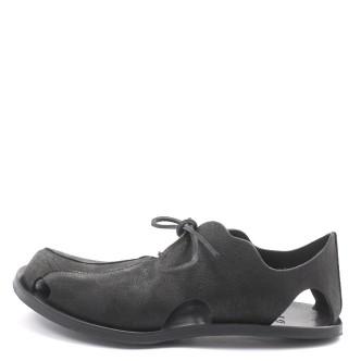 CYDWOQ Cut-M Herren Sandale schwarz