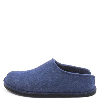 Haflinger Flair Smily Unisex Hausschuh blau