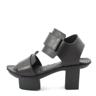 Trippen, Visor f Happy Damen Absatz-Sandale, schwarz