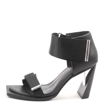 United Nude, Vita Sandal High Damen Sandale, schwarz
