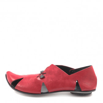CYDWOQ, Pavillion Damen-Sandale, rot