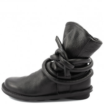 Trippen, Cable f Closed Damen-Stiefelette, schwarz