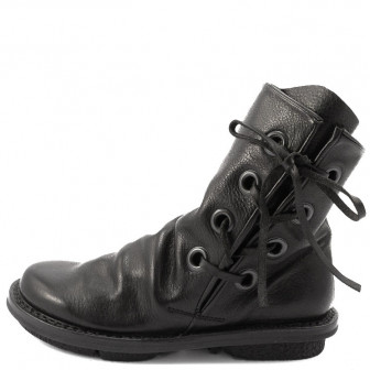 Trippen, Tramp f Closed Damen-Stiefelette, schwarz