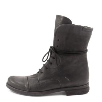 P. Monjo, P-705 Baker Damen Stiefelette, schwarz