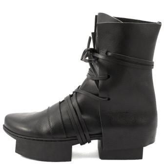 Trippen, Layers Box Damen-Stiefelette, schwarz