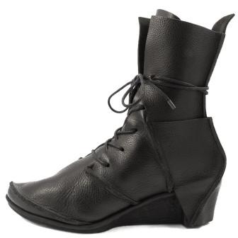 Trippen, Skulptur x+os Damen-Stiefel, schwarz