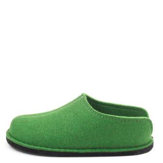 Haflinger, Flair Smily Unisex Hausschuh, grün