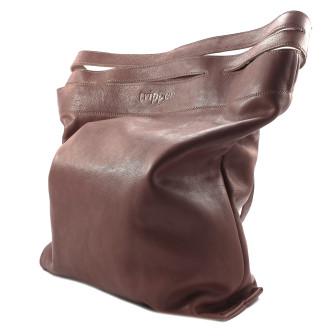 Trippen, X-Bag Damen Umhängetasche, mittelbraun