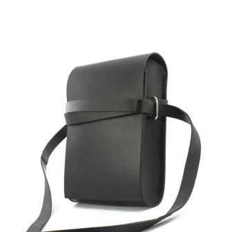 Trippen, Bag S A5 Unisex Umhängetasche, schwarz